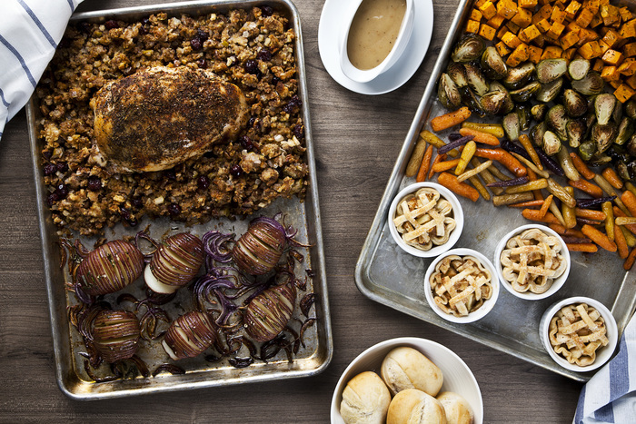 Sheet Pan Turkey Dinner