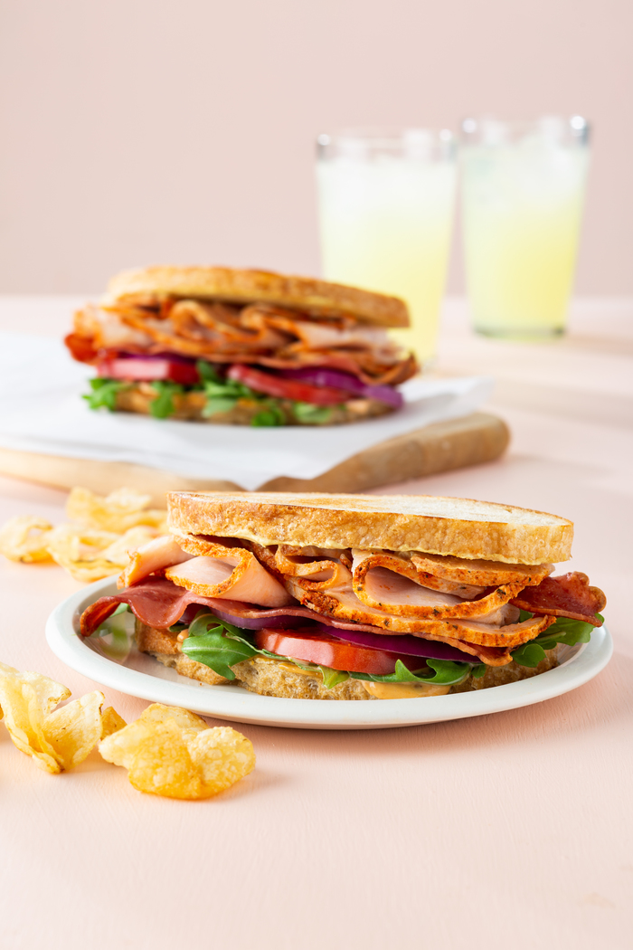 Chipotle Turkey Club