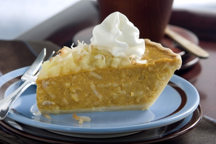 Tropical Pumpkin Pie