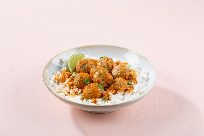 Coconut Curry Turkey Meatballs