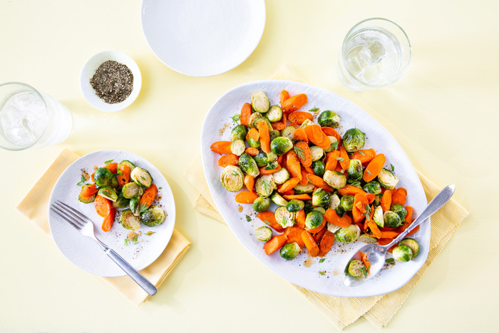 roasted brussels sprouts carrots recipe - Butterball
