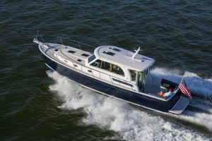 Back Cove 41 - single engine downeast motor yacht