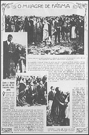 A Newspaper Scan Showing Fatima Viewers