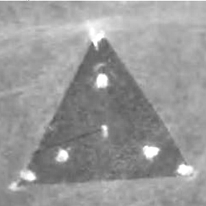 A Typical Black Triangle UFO.