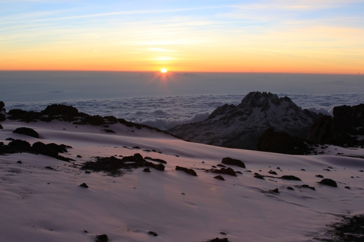 17.) Mount Kilimanjaro