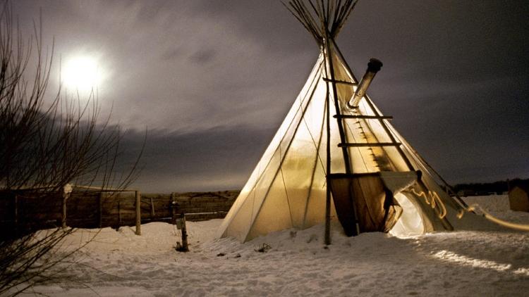 8.) Teepee Camping