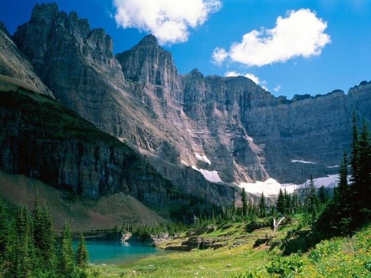 10.) Glacier National Park