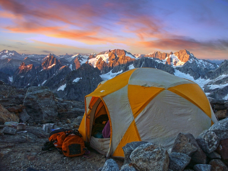 14.) Sahale Glacier Camp