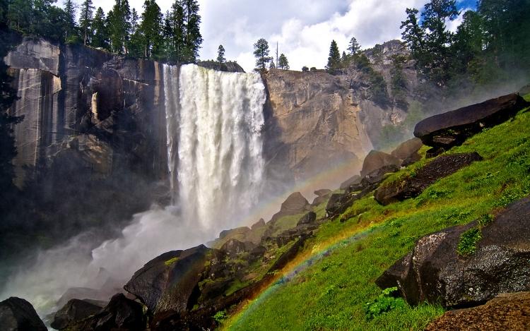 7.) Vernal Falls