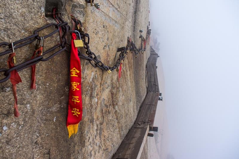 2 - 25 Most Treacherous Hiking Trails in the World - Mount Hua Shan, China