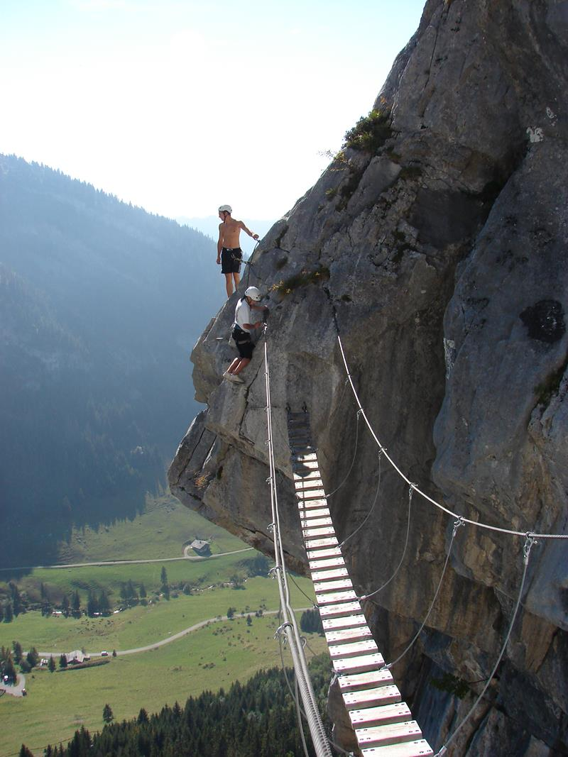 4 - 25 Most Treacherous Hiking Trails in the World - Via Ferrata, Italy and Austria