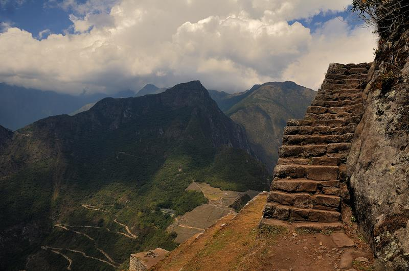 6 - 25 Most Treacherous Hiking Trails in the World - Huayna Picchu Trail, Peru