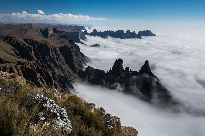 11 - 25 Most Treacherous Hiking Trails in the World - Drakensberg Traverse