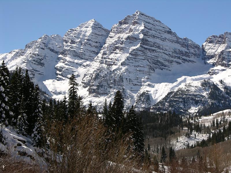 17 - 25 Most Treacherous Hiking Trails in the World - Maroon Bells South Ridge, Colorado
