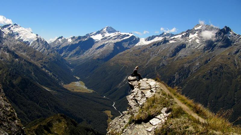 25 - 25 Most Treacherous Hiking Trails in the World - Cascade Saddle, New Zealand