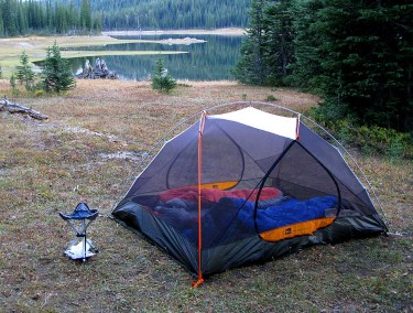 Mesh will allow you to get plenty of air circulating in your backpacking tent