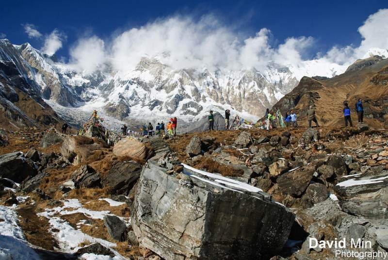 6-25 Everest Pictures - Annapurna Base Camp-Annapurna Base Camp, Nepal - Annapurna Base Camp2