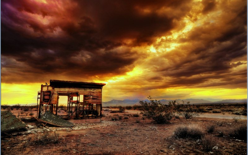 1 - Ridgecrest - Haunted Ghost Towns in California
