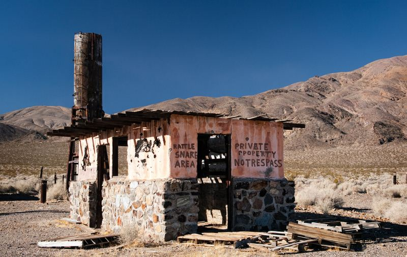 5 - Garlock - Haunted Ghost Towns in California
