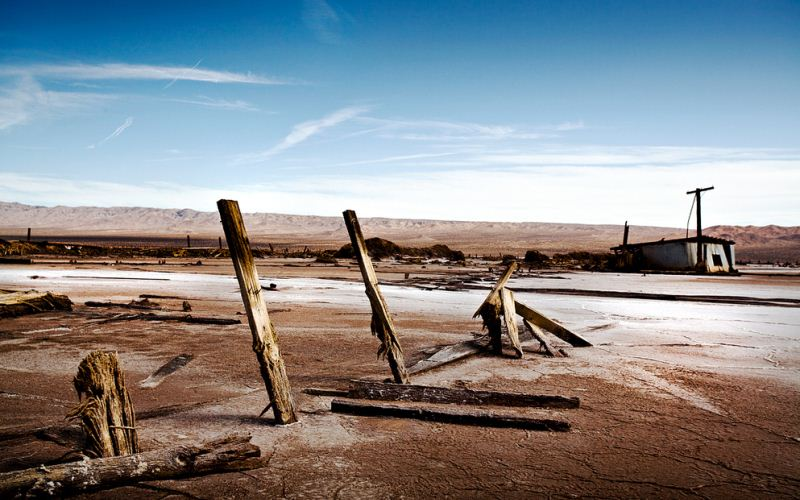 7 - Saltdale - Haunted Ghost Towns in California