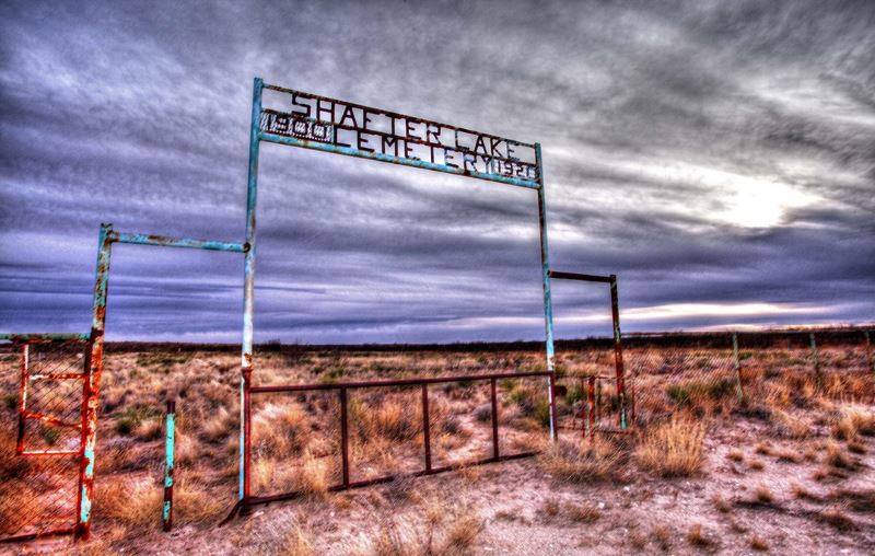 3 - Shafter Lake - 10 Most Haunted Hikes in Texas