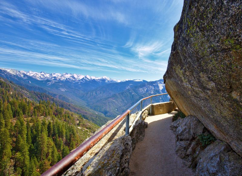 5 - Moro Rock - 10 Best Hidden Hikes In California