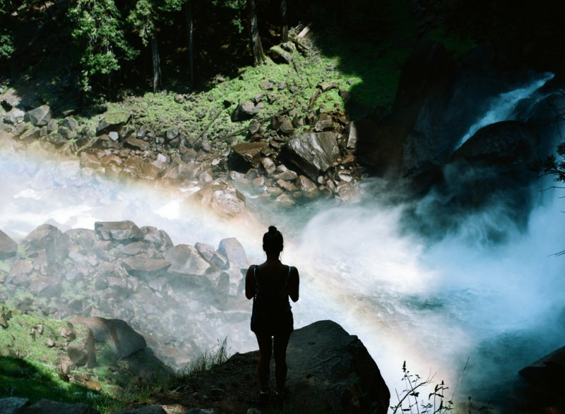 8 - Mist Trail - 10 Best Hidden Hikes In California