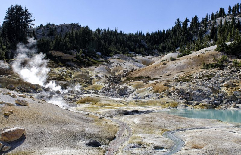 9 - Bumpass Hell - 10 Best Hidden Hikes In California