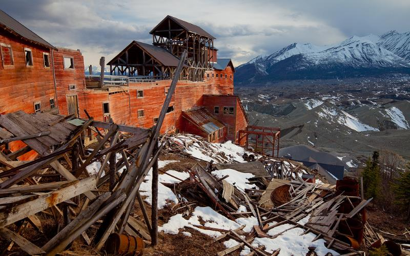 2) Alaska - Kennecott Copper Mine Kennecott - Haunted Hiking Trails 50 States