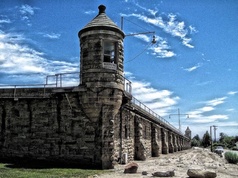 12) Idaho  - Idaho State Penitentiary Boise - Haunted Hiking Trails 50 States