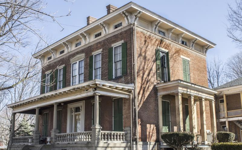 14) Indiana  - Hannah House Indianapolis - Haunted Hiking Trails 50 States