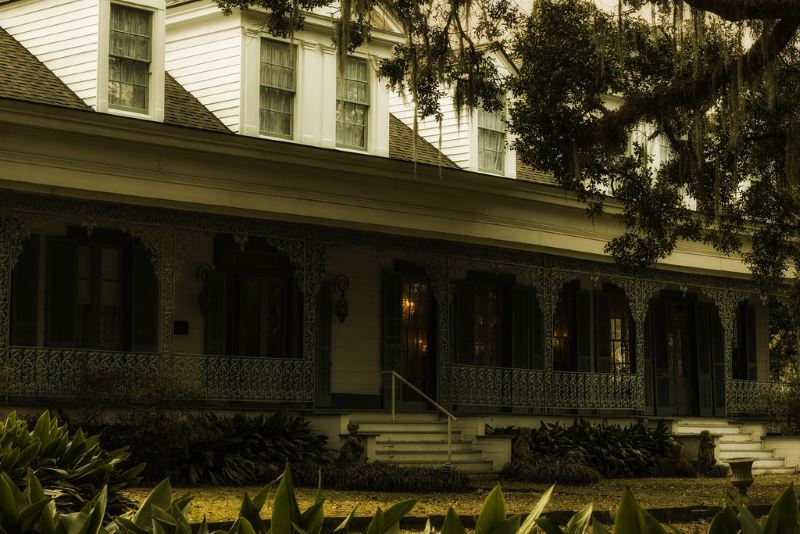 18) Louisiana  - Myrtles Plantation St. Francisville - Haunted Hiking Trails 50 States