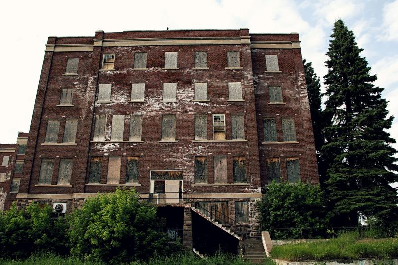 22) Michigan  - Old City Orphanage Marquette - Haunted Hiking Trails 50 States