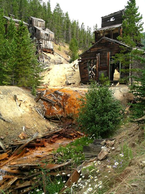26) Montana - Barker-Hughesville Barker Mining District - Haunted Hiking Trails 50 States