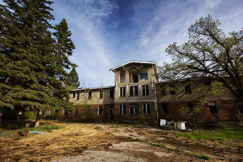 34) North Dakota  - San Haven Sanatorium Turtle Mountains - Haunted Hiking Trails 50 States