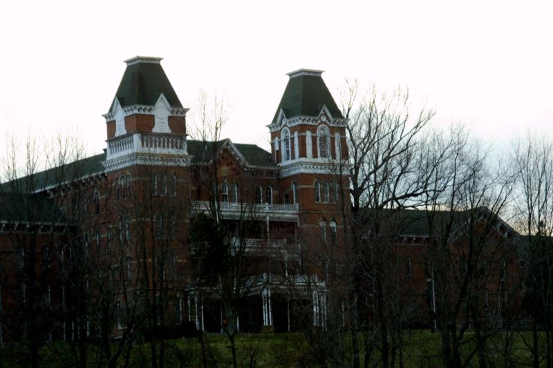 35) Ohio  - Athens Lunatic Asylum Athens - Haunted Hiking Trails 50 States