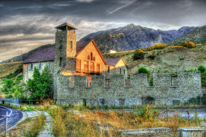 44) Utah  - Cottonwood Paper Mill Cottonwood Heights - Haunted Hiking Trails 50 States