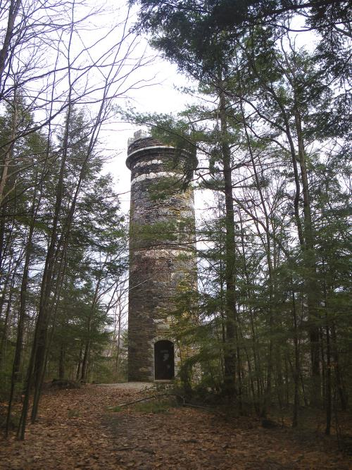 45) Vermont  - Brattleboro Tower Brattleboro - Haunted Hiking Trails 50 States