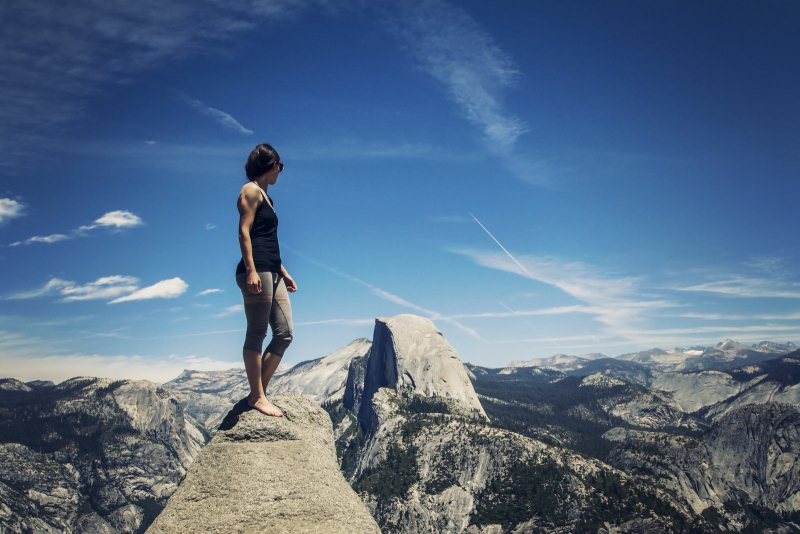 10) Yosemite National Park - 10 Exhilarating Adventure Vacations In California