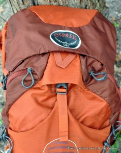 osprey atmos 65 ag review - inside-cover-lid-off