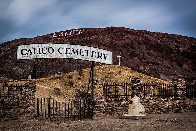 3) Calico Ghost Town - 10 Most Haunted Hikes in Northern California
