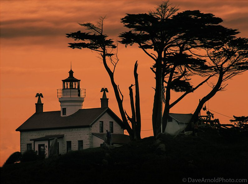 9) Battery Point Lighthouse - 10 Most Haunted Hikes in Northern California
