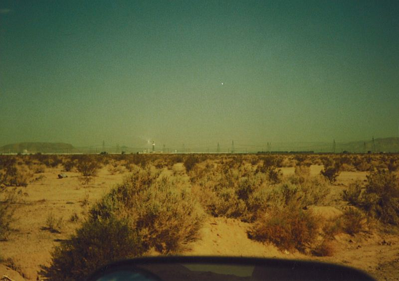 10 - Near Barstow - UFO Sightings California