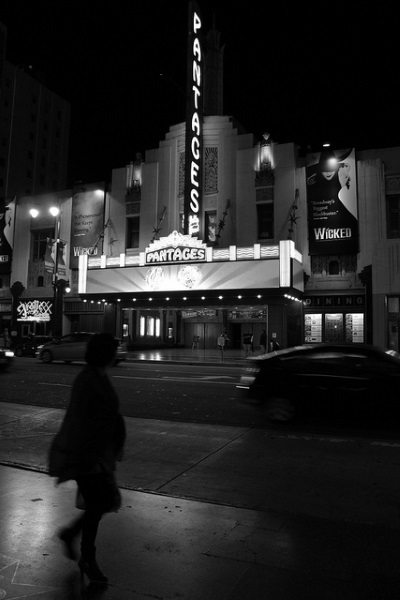 5 - Pantages Theatre, Los Angeles - Haunted Places in California