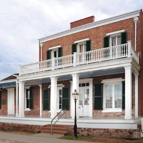 3) Whaley House, San Diego - Haunted Places in California