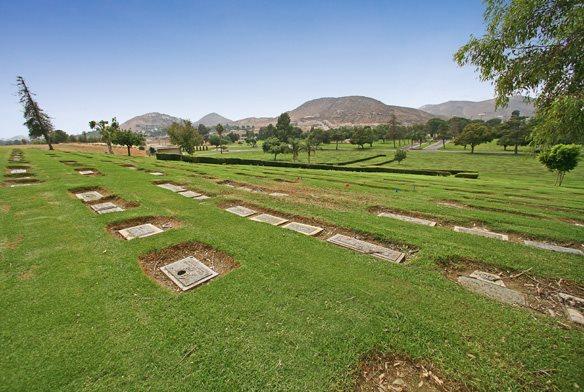 3 - Green Acres Cemetery, Bloomington - 10 Haunted Cemeteries California