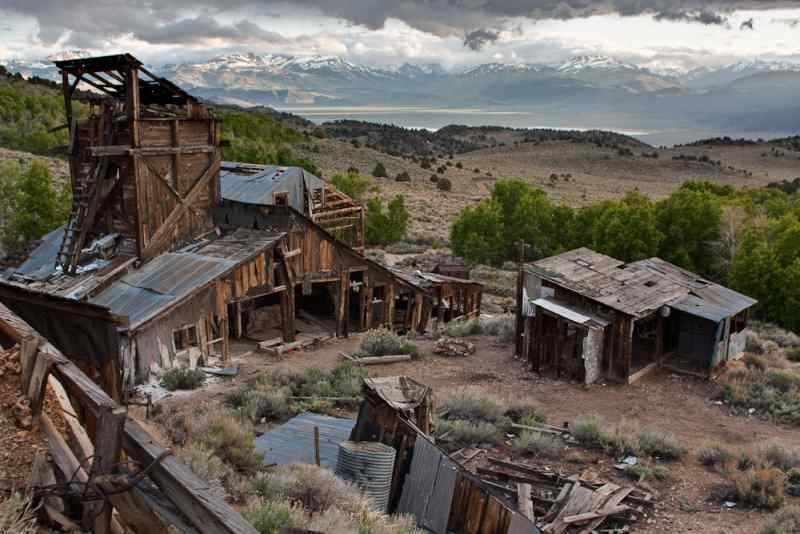 8 - Chemung Mine, Humbold-Toiyabe National Forest - Paranormal Abandoned Buildings In California