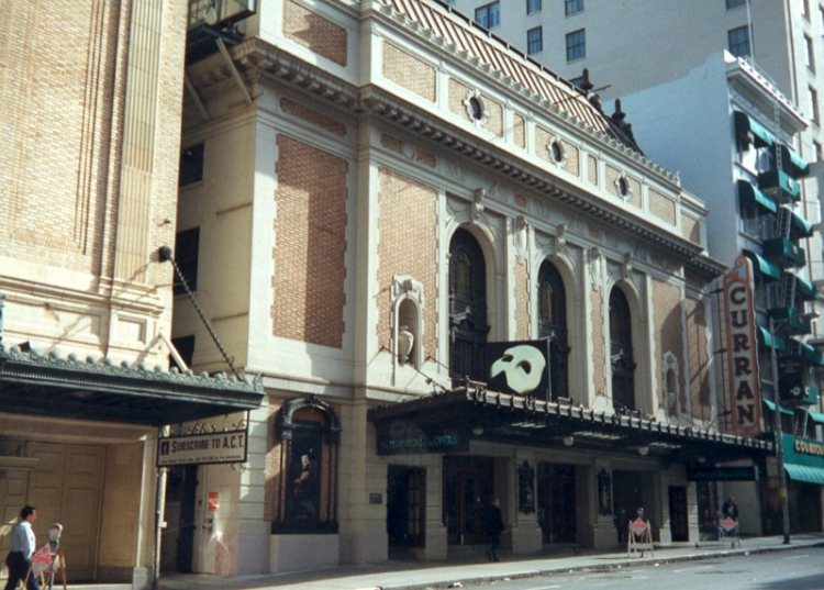 3 - Curran Theater - Haunted Locations Near San Francisco