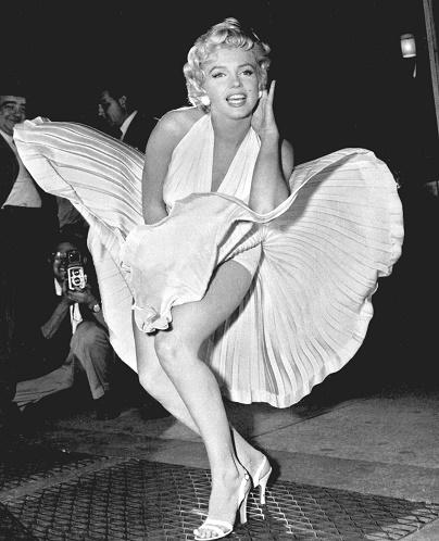 Marilyn Monroe Dress Flying Up