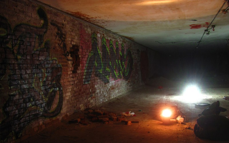 10 - Old Sacramento Tunnels - Haunted Hikes Sacramento